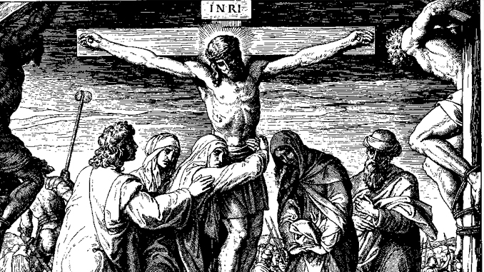 Chapter VIII. - The Crucifixtion